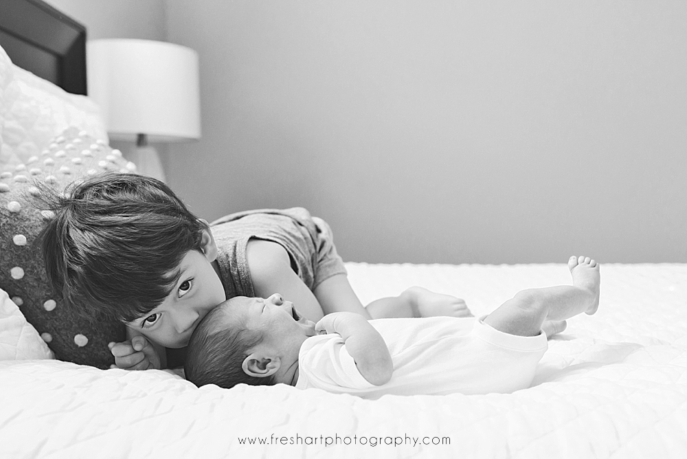 Kindred In-Home Newborn Session | St. Louis Newborn Photography