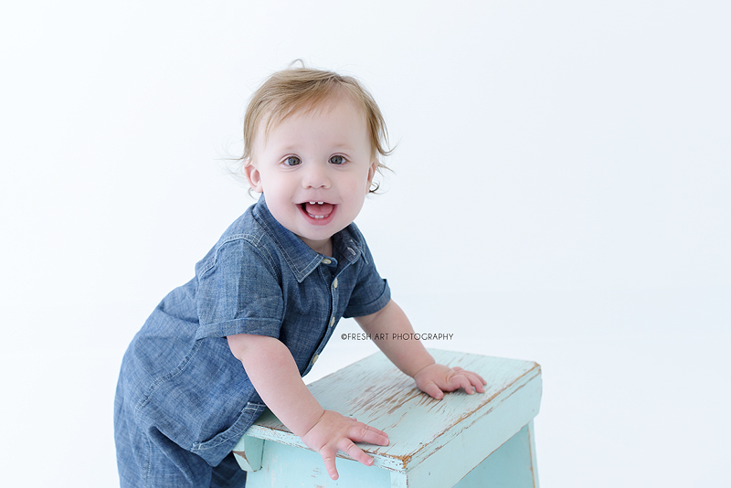 Elliot turns one! | St. Louis Baby Photography